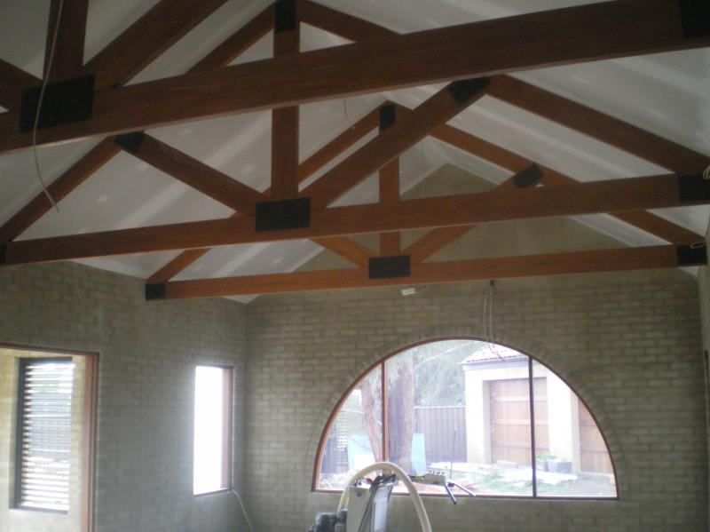 Truss applications for Exposed roof truss design